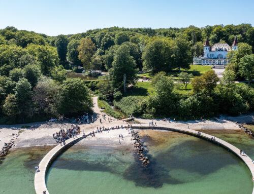 Dronefotograf til bryllup – Se de flotte billeder