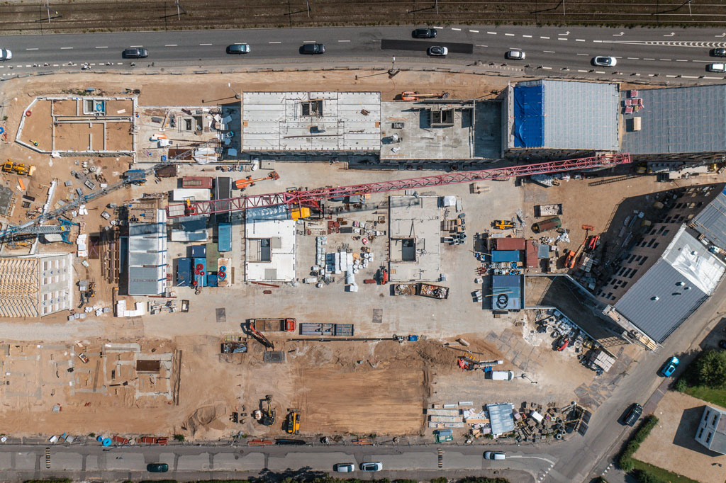byggepladsinretning