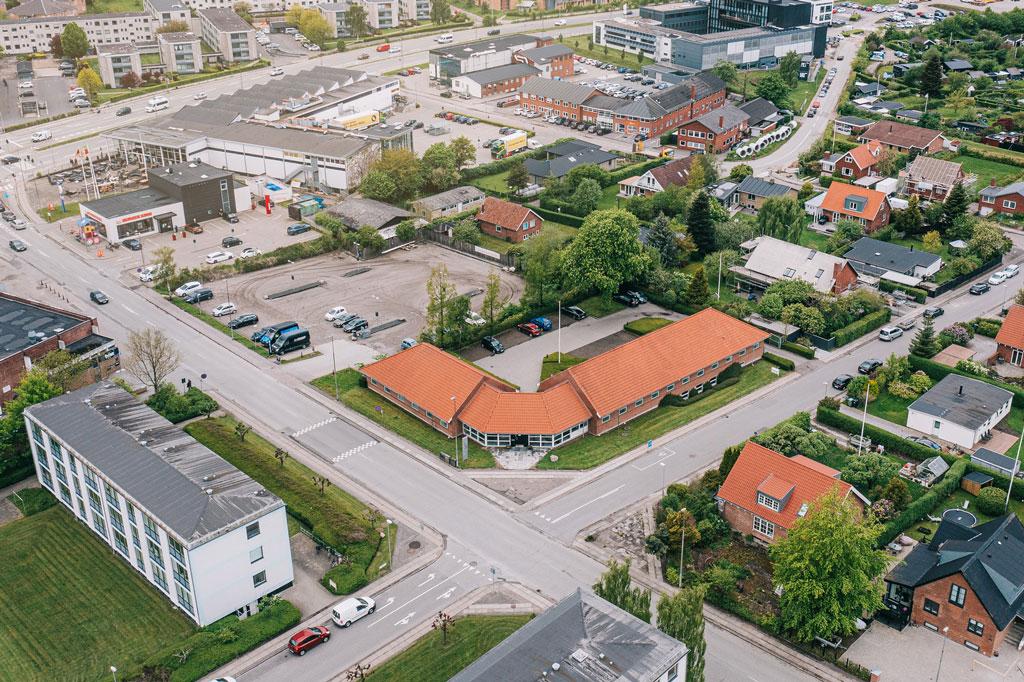 Dronefoto ejendomme